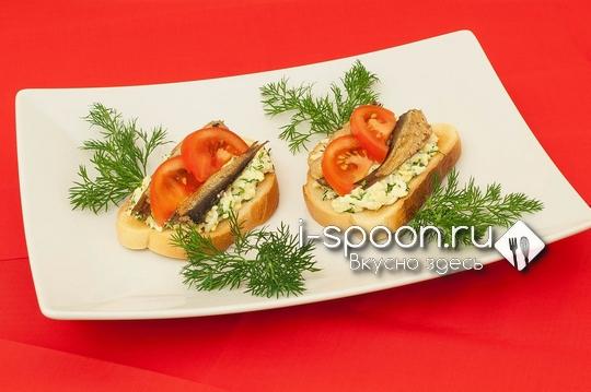 Как сделать бутерброды из шпрот