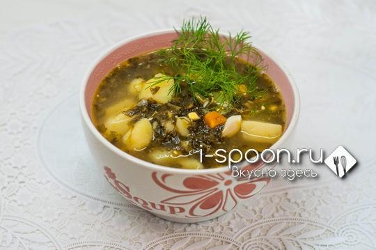 суп со щавелем рецепт