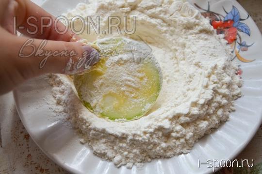 рецепт жареных кабачков в кляре