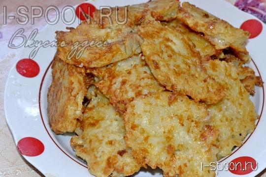 картофельные оладья