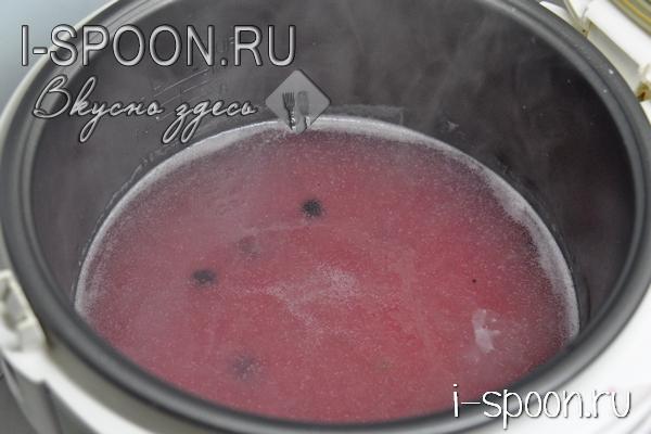 как варить кисель из замороженных ягод