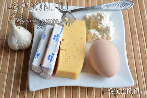 биточки с сыром и крабовыми палочками