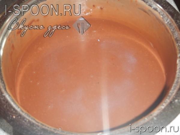 шоколадное пирожное рецепт