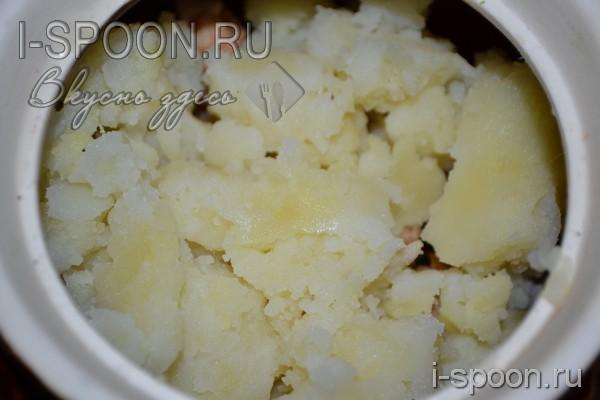 рецепт мяса в горшочках в духовке