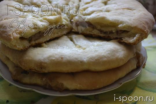 рецепт осетинского пирога с мясом